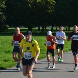 SEB Tallinna Maraton - Kaarel Karu (697), Ari Viljanen (1282), Jeremy Haslett (1332), Mika Penttilä (1991)
