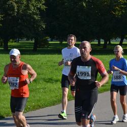 SEB Tallinna Maraton - Ulla Jõgi (588), Ari Viljanen (1282), Mika Penttilä (1991)
