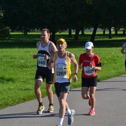 SEB Tallinna Maraton - Targo Tennisberg (940), Heribert Grab (1268), Annika Lundström-Nygård (1607), Relika Mell (1903)