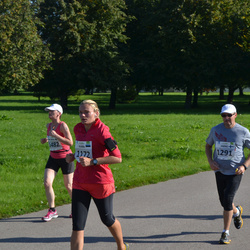 SEB Tallinna Maraton - Karin Täär (1172), Jarno Kekäläinen (1291), Ann-Mari Bergström (1482)