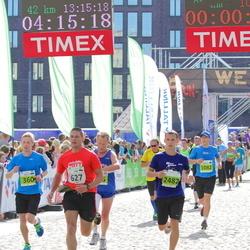 SEB Tallinna Maraton - Risto Hunt (360), Erik Randla (627), Jörgen Herman (1082), Alexander Gulyaev (2482)