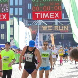 SEB Tallinna Maraton - Ander Avila (705), Lennart Pulk (1578)
