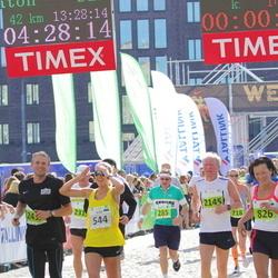 SEB Tallinna Maraton - Markku Hirn (285), Agne Väljaots (544), Anatoli Läte (2145)