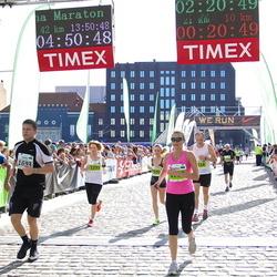 SEB Tallinna Maraton - Anna Pavlova (1293), Indrek Veldre (1693), Heikki Aalto (2442)