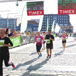 SEB Tallinna Maraton - Anni Rõuk (1348), Mart Rosin (1429), Airi Kentala (1756)