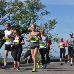 SEB Tallinna Maraton - Maxim Voznyy (1534), Olga Sinyavskaya (1613), Alyona Skopina (2320)