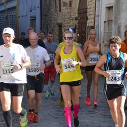 SEB Tallinna Maraton - Agne Väljaots (544), Tauno Ojasaar (1115), Daria Kessel (1243), Tuure Koski (1506)