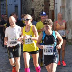 SEB Tallinna Maraton - Agne Väljaots (544), Daria Kessel (1243), Tuure Koski (1506)