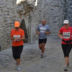 SEB Tallinna Maraton - Valjo Tooming (1568), Anna-Maija Koskela (1666)