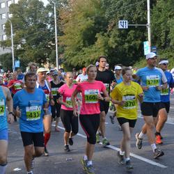 SEB Tallinna Maraton - Victoria Russ (370), Luciano Capanna (431), Artjom Sokolov (1787)