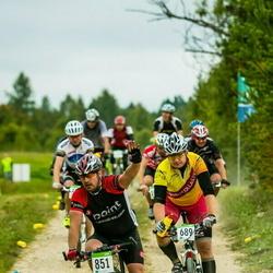 SEB 16. Tartu Rattamaraton - Janis Laubergs (689), Andi Maasalu (851)