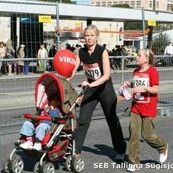 8. SEB Tallinna Sügisjooks - Annely Raadik (6379), Eileen Lusti (6386)