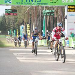 SEB 16. Tartu Rattamaraton - Siim Jalakas (29), Arnis Petersons (60)
