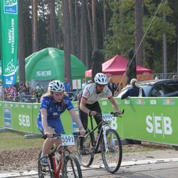 SEB 16. Tartu Rattamaraton - Brita Ennok (5591), Arne Kailas (6909)