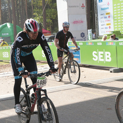 SEB 16. Tartu Rattamaraton - Aare Järvelaid (3386), Andrei Polishtshuk (6980)
