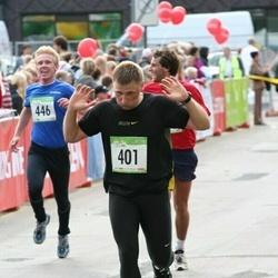 8. SEB Tallinna Sügisjooks - Andre Mägi (401), Kaarel Pääsuke (446)