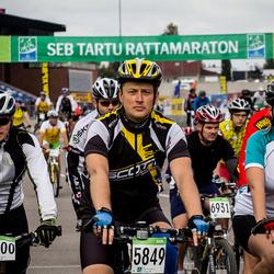 SEB 16. Tartu Rattamaraton - Risto Mitt (5849), Marko Veetamm (6000), Jaana Kuusik (6541), Arsi Tupits (6931)