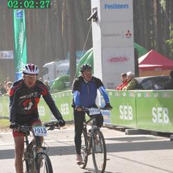 SEB 16. Tartu Rattamaraton - Mario Kirt (6690), Arseny Ilushin (7015)