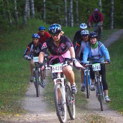SEB 16. Tartu Rattamaraton - Anneli Sitska (6428), Piret Pumm (6761)
