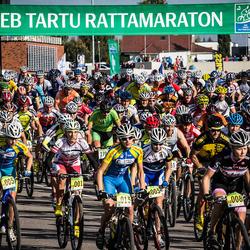SEB 16. Tartu Rattamaraton - Aavo Patrick Pikkuus (47), Dana Rozlapa (10001), Daisi Rist (10003), Inge Kool (10005), Liisa Ehrberg (10008), Sirje Lepik (10010), Mae Lang (10013)