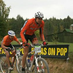 SEB 16. Tartu Rattamaraton - Martins Poseika (3169), Arnis Taukacs (3170)