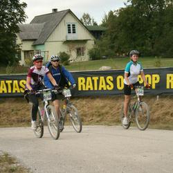 SEB 16. Tartu Rattamaraton - Andrus Vahtrik (5733), Jaana Kuusik (6541), Annika Paluoja (6746)