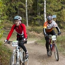 SEB 16. Tartu Rattamaraton - Ago Kottise (6104), Natalia Saks (6213)