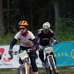 SEB 16. Tartu Rattamaraton - Maila Kuus (2395), Ago Arro (5482)