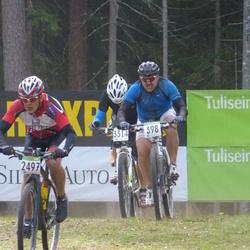 SEB 16. Tartu Rattamaraton - Guntars Zeics (398), Arno Bachaus (2497)