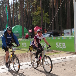 SEB 16. Tartu Rattamaraton - Andrus Vahtrik (5733), Annika Paluoja (6746)