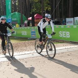 SEB 16. Tartu Rattamaraton - Marko Veetamm (6000), Annika Reinik (6634)