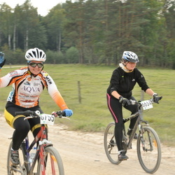 SEB 16. Tartu Rattamaraton - Annika Reinik (6634), Kaidi Tuisk (6755)