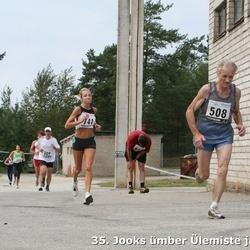 35. Jooks ümber Ülemiste järve - Heino Põldoja (508), Anneli Vaher (741)