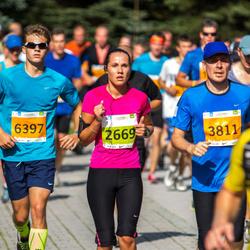 SEB Tallinna Maraton - Irma Toobal (2669), Ago Lilleorg (3811), Allar Valge (6397)