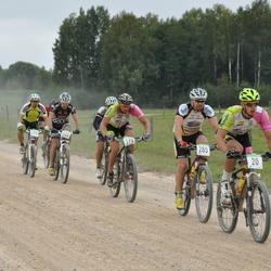 SEB 16. Tartu Rattamaraton - Mikk Altermann (20), Andre Pukk (170), Raul Koppelmaa (285)