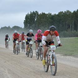 SEB 16. Tartu Rattamaraton - Kaspars Cikste (90), Rihards Deicmanis (248), Aare Piire (249), Risto Bogdanov (267)