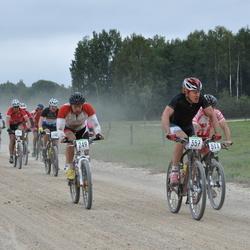SEB 16. Tartu Rattamaraton - Aare Piire (249), Sven Freiberg (357), Indrek Palu (443)