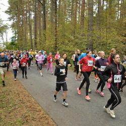 Pirita Sügisjooks - Viktorija Tsapko (309), Vivika Kurnitski (354), Astrid Mai Barsegjan (442), Maris Praats (471), Pille Kurnitski (480)
