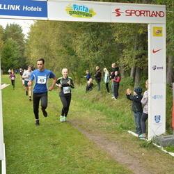 Pirita Sügisjooks - Aleksei Trunin (45), Evelin Märtson (260)