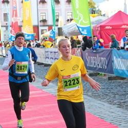 2. Tartu Linnamaraton / Sügisjooks - Annika Altoja (2223), Juris Gaidelis (2879)