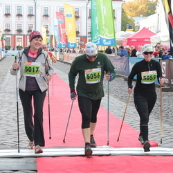 2. Tartu Linnamaraton / Sügisjooks - Kaja Filatenko (5017), Berit Kroon (5055), Hanno Kroon (5056)