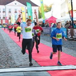 2. Tartu Linnamaraton / Sügisjooks - Ance Andrejeva-Empele (2336), Danver Hans Värv (2478)