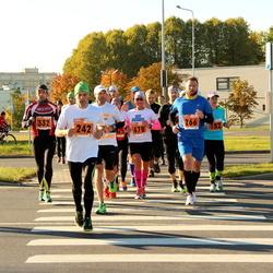 2. Tartu Linnamaraton / Sügisjooks - Aimar Pärnalaas (242), Kristjan Timmusk (266), Andres Kiisler (332), Liisa Kull (478)