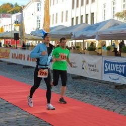 2. Tartu Linnamaraton / Sügisjooks - John Innos (129), Aarne Vasarik (276)