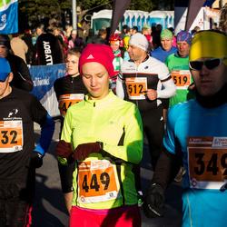 2. Tartu Linnamaraton / Sügisjooks - Janar Veski (349), Viktor Muuli (432), Anna-Kati Pahker (449)