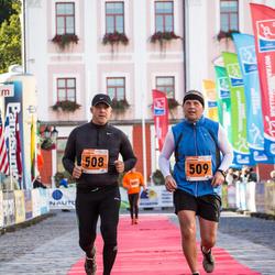 2. Tartu Linnamaraton / Sügisjooks - Andrus Sareal (508), Ago Viner (509)