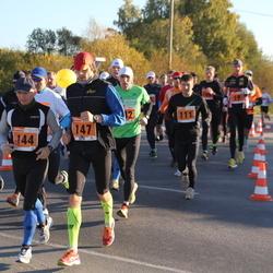 2. Tartu Linnamaraton / Sügisjooks - Aarne Seeba (144), Indrek Kaseorg (147)