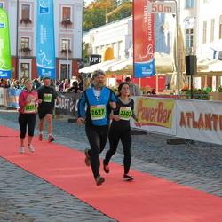 2. Tartu Linnamaraton / Sügisjooks - Irena Luik (2302), Triin Zemskov (2327), Aare Tinn (2627)