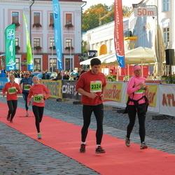 2. Tartu Linnamaraton / Sügisjooks - Annika Labent (2319), Karel Mällas (2324)