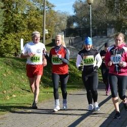 2. Tartu Linnamaraton / Sügisjooks - Ade Roos-Oja (2502), Katrin Sõlg (2559), Vello Lode (2634)